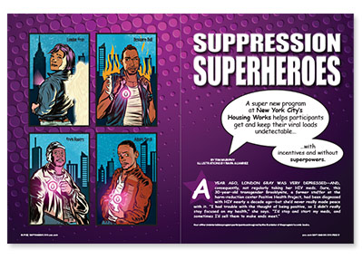 Suppression Superheroes