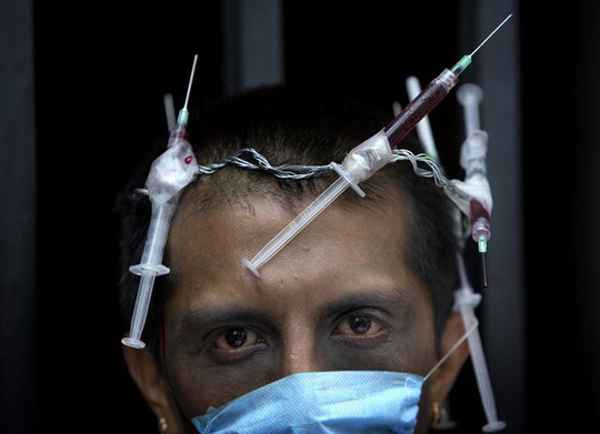 AIDS activist Polo Gomez crown of needles