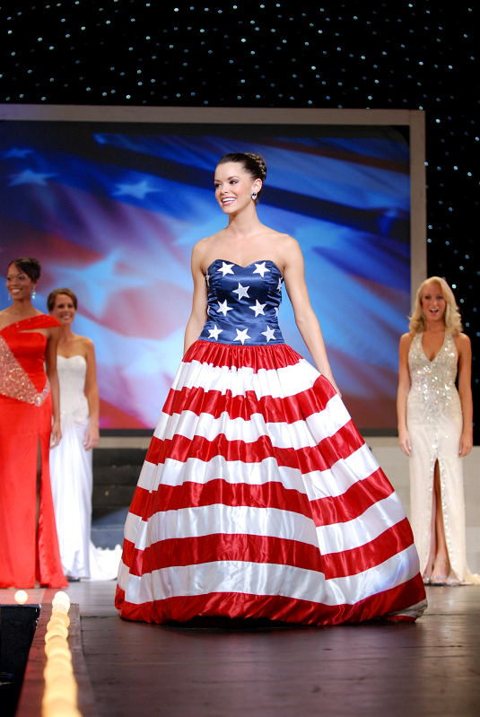 Fancy American Flag Gown Photos - Ball Gown Wedding Dresses ...